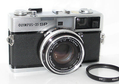 Olympus 35Sp 35 Sp  Serviced 100% Funzionante Fully Working