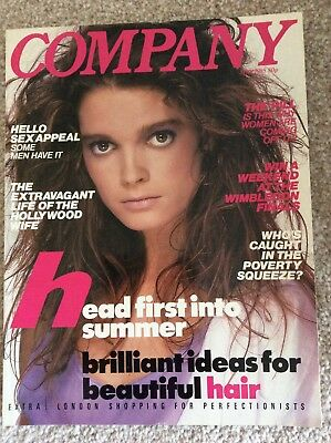 Vintage Company Magazine May 1985 Mint Condition