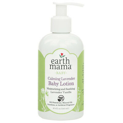 EARTH MAMA - Calming Lavender Baby Lotion with Organic Calendula - 8 fl oz/240ml