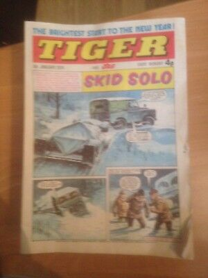 Tiger Comics 1974 40 Issues Good Condition Includes Roy of the Rovers