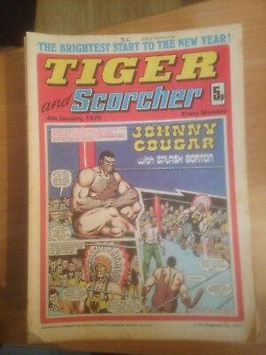 Tiger Comics 1975 All 52 Issues Good Condition Includes Roy of the Rovers
