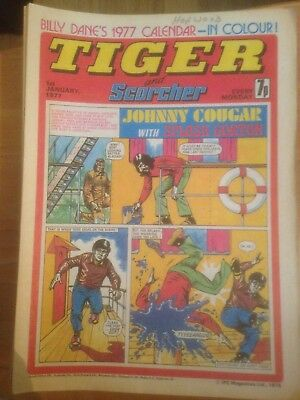 Tiger Comics 1977 All 53 Issues Good Condition Includes Roy of the Rovers