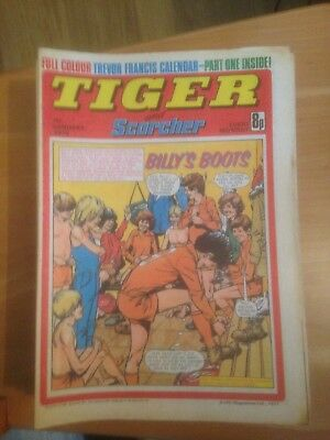 Tiger Comics 1978 All 49 Issues Good Condition Includes Roy of the Rovers