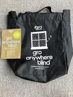 The Gro Company Gro Anywhere Blackout Blind Travel Baby Curtains