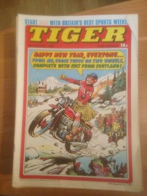 Tiger Comics 1982 All 52 Issues Good Condition