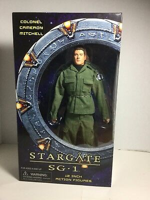 Stargate SG-1 Colonel Cameron Mitchell 12 inch Figure New in Box