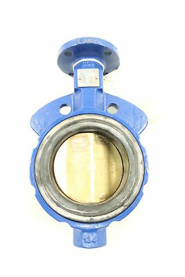 Keystone AR1 Iron 100 Wafer 4in Butterfly Valve