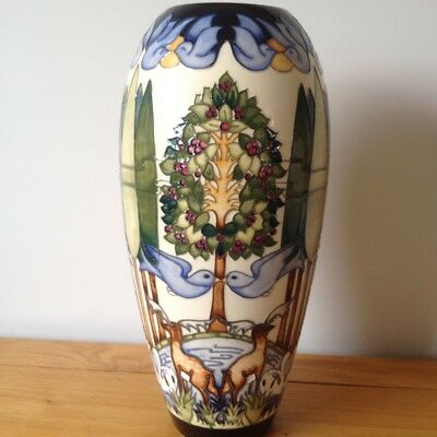 "Moorcroft Voysey's Orchard 101/14 Vase RRP £1,620 Ltd Edition  14.5 "" Huge"