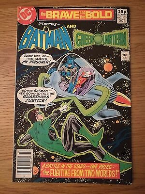 Brave and the Bold #155 Batman and the Green Lantern 1979 Bronze Age