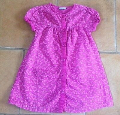 Jojo Maman Bebe ! 2 - 3 Yrs ! Really Pretty Cotton Dress In Great Condition