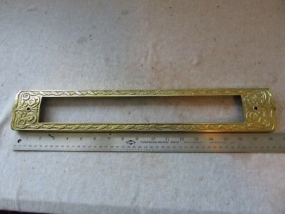 VTG Early Antique Scale Part Front Display Trim Counter