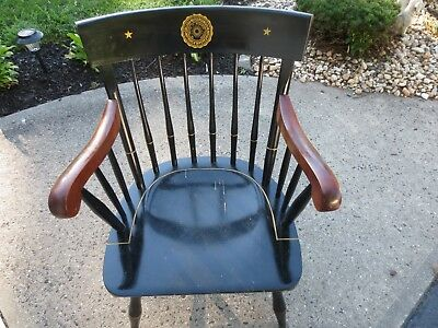 Rutgers Wooden Windsor Chair - Nichols & Stone Co. - Pick Up Only
