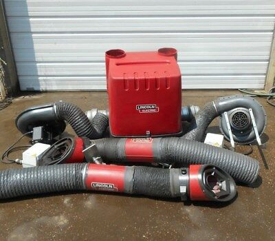 Lincoln Electric Statiflex M-200 Dual Arm Welding Fume Extractor Filter