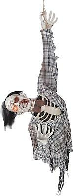 LIFE SIZE ANIMATED ZOMBIE CORPSE Torso OUTDOOR HALLOWEEN DECORATION PROP HAUNTED