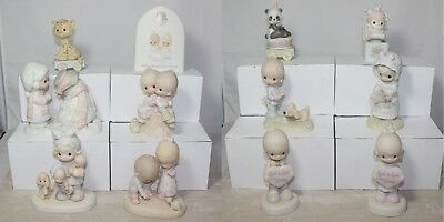 Lot of 12 Precious Moments Figurines