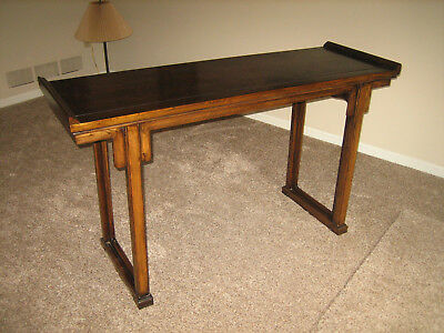Ming Dynasty Console Table reproduction by Maria Yee