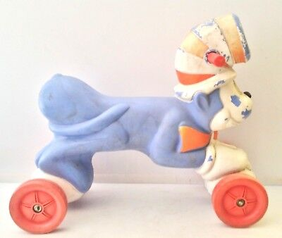 """Vintage 1957 Dr. Seuss """"Cat in the Hat"""" Child's Ride-On Toy Scooter"""