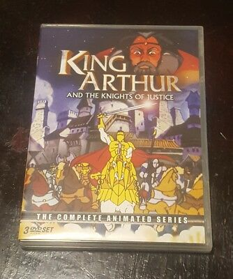 KING ARTHUR AND THE KNIGHTS OF JUSTICE - The Complete Series DVD
