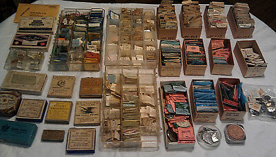 HUGE LOT of Vintage Wristwatch and Pocket Watch Parts