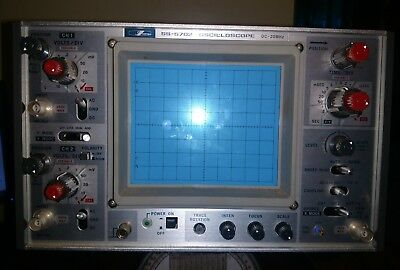 Iwatsu SS 5702 Oscilloscope Made in Japan Selling as is - untested