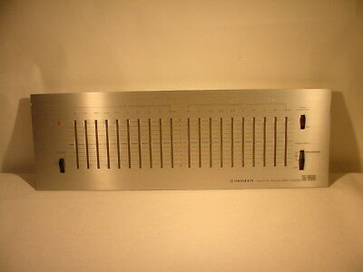 Pioneer SG-9500 graphic equalizer FACE PLATE