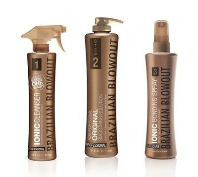 Brazilian Blowout 3 Step Professional Smoothing System