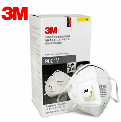 10Pack 3M 9001V Dust Respirator Anti PM2.5 Folding Protection Mask