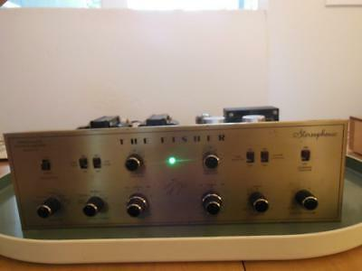 The Fisher X-100 Amplifier- Works~ All Original W/ Paperwork