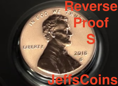 2018 S REVERSE Lincoln Shield Cent Proof Deep Cameo 1¢ New Penny Union US Mint