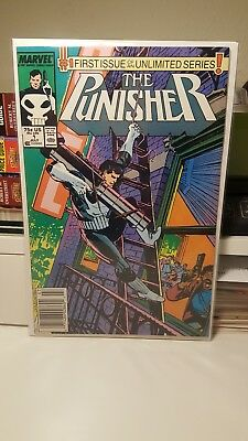 The Punisher #1    (Nm/nm+)  ~1St Punisher Unlimited Series~ 1987   (Bv $35.00+)