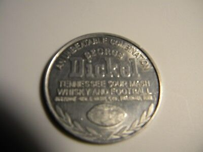 """George Dickel coin - """"An unbeatable Combination"""""""