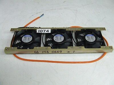 cooling panel with 3 x Ebmpapst 9956 AC axial compact fan 230V AC 50/60 HZ *NEW*