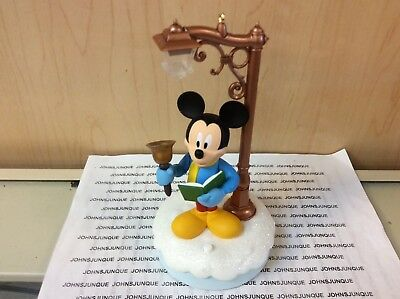 Merry Mickey Hallmark Ornament 2018 Disney Christmas Carolers Storytellers New