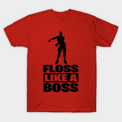 Fortnite Shirt, Floss Like A Boss Shirt, T Shirt, Gaming Shirt, Colors, Sizes
