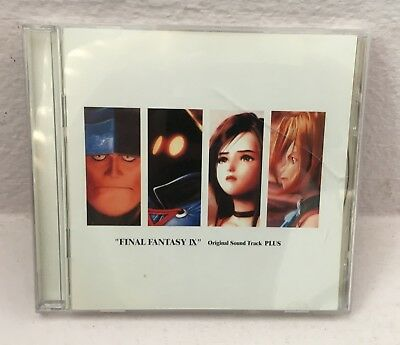 Final Fantasy IX Original Soundtrack/Sound Track PLUS FREE AND FAST SHIPPING