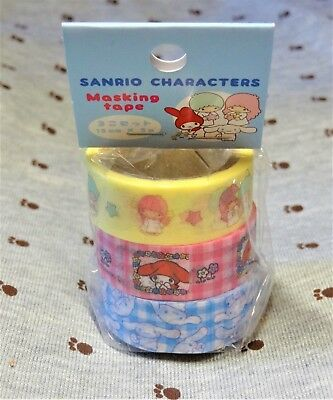 Sanrio Character Paper Masking Tape Little Twin Stars My Melody Cinnamoroll