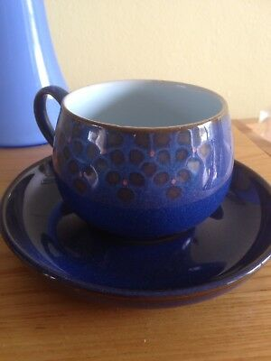 Denby Cup And Saucer New Ex Condition