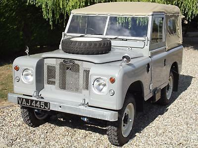 Land Rover Series IIA/III. Concours Restored with Sensible Upgrades
