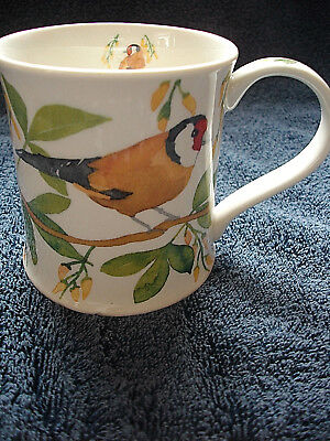 Dunoon Mug Designed By Emma Ball Garden Birds Goldfinch 1St Quality
