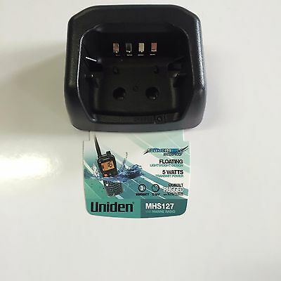 UNIDEN MHS127 Marine Radio Desktop charge cradle only.