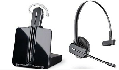 Plantronics CS054A wireless headset EXCELLENT condition ALL parts included