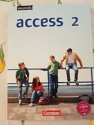 English G ACCESS 2  Schülerbuch 6. Klasse Cornelsen