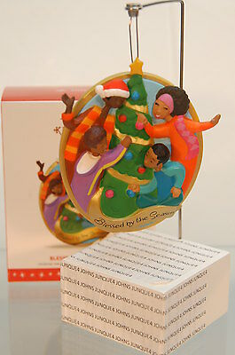 Blessed By The Season 2016 Hallmark Ornament~Family~Ships Now~Bid Now Low Price