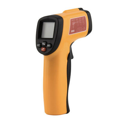 Digital Infrared Thermometer Non-contact LCD IR Laser Temperature Tester Gun LP