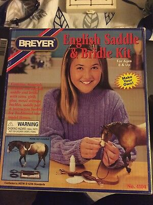 Breyer English Saddle & Bridle Kit, new in package, never used