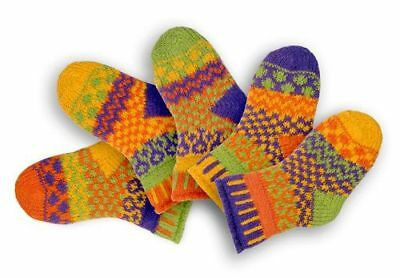 solmate socks honey bee 12-24 months 2 pairs & a spare