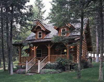 Perfect Log Home Package 990 sq ft materials only