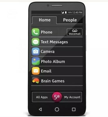 jitterbug smart phone for seniors 5.5