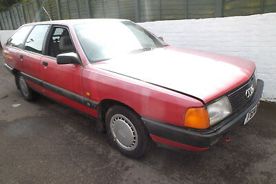 Ausi 100 Avant 2.0E 1 Owner From New F Reg 1988 - Spares Or Repairs -Good Runner