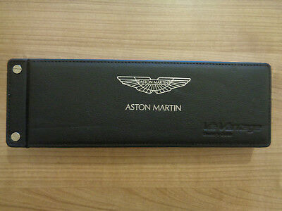 Aston Martin V12 Vantage Owners Handbook Manual